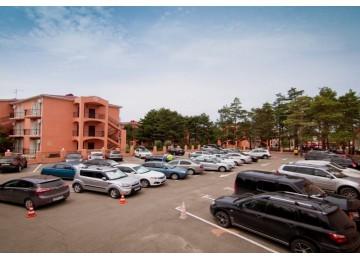 Парковка | Отель  «ALEAN FAMILY RESORT & SPA RIVIERA/ Ривьера Анапа»