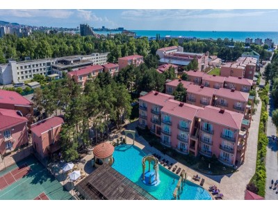 Внешний вид, территория | Отель  «ALEAN FAMILY RESORT & SPA RIVIERA/ Ривьера Анапа»