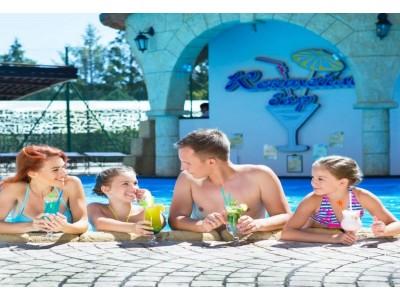 Коктейль бар у бассейна| Отель  «ALEAN FAMILY RESORT & SPA RIVIERA/ Ривьера Анапа»