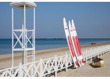 Собственный пляж| Отель  «ALEAN FAMILY RESORT & SPA RIVIERA/ Ривьера Анапа»