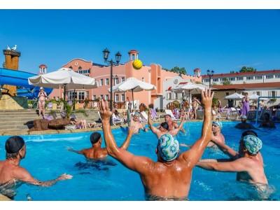 Комплекс бассейнов| Отель  «ALEAN FAMILY RESORT & SPA RIVIERA/ Ривьера Анапа»