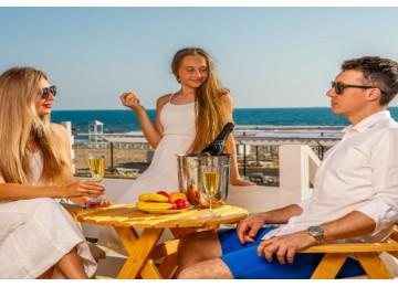 Снек-бар на пляже «Le Paradis»| Отель  «ALEAN FAMILY RESORT & SPA RIVIERA/ Ривьера Анапа»